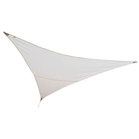 JARDILINE - Voile ombrage triangulaire First - 3x3 m - sable