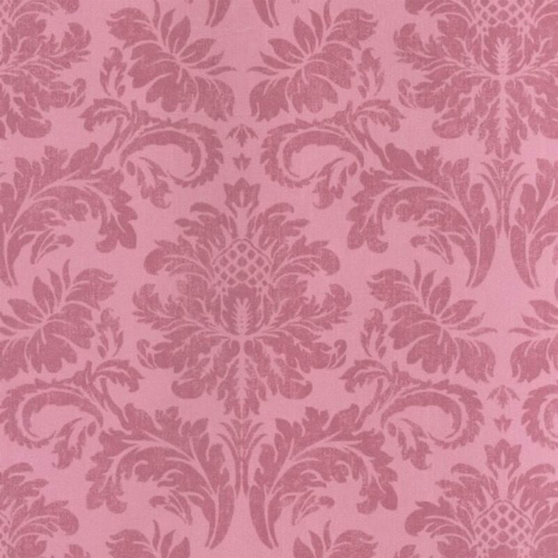 Image of Jardin Chic Pink Damask Two Toned Wallpaper High Quality Wall Covering
