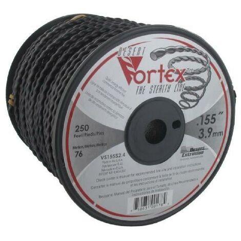 JARDIN PRATIQUE Bobine fil nylon copolymere VORTEX pour débroussailleuse - Ø 3.9 mm - L 76 m