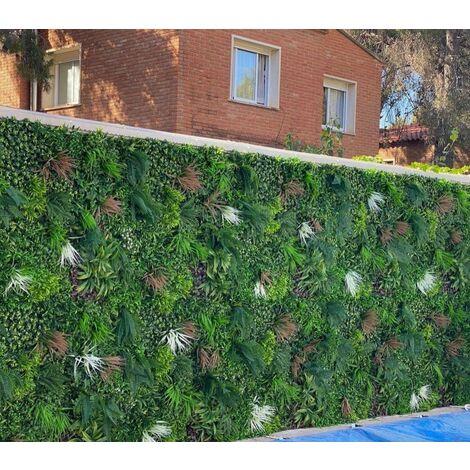 Jardin vertical artificial. Modelo Nature 100x100 cm
