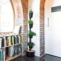 Jardín vertical hydro Citysens color negro 4 macetas