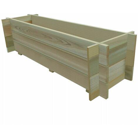 Jardinera de verduras madera pino impregnada FSC 120 cm(no se puede enviar a Baleares)