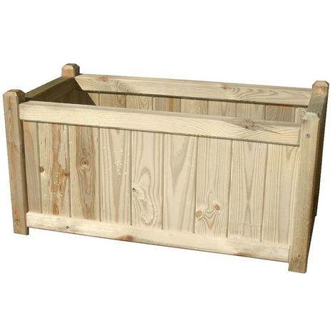 Jardinera madera papillon 40x80 cm.