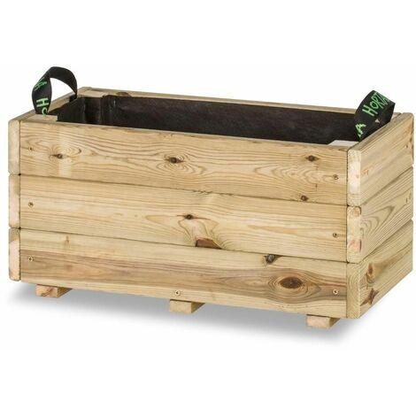 Jardinera rectangular Ghio Hortalia 48 Litros - 60 x 30 x 40 cm
