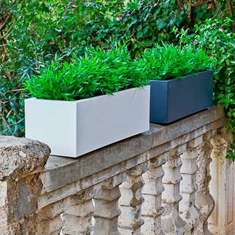 Jardinera rectangular polietileno Jara