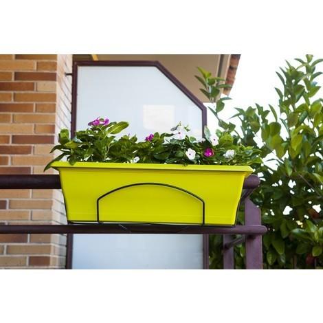 Jardinera+soporte Pistacho - AB FLOWERS - SC21PS - 60 CM