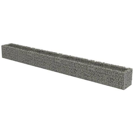 Jardinière à gabion Acier galvanisé 540 x 50 x 50 cm