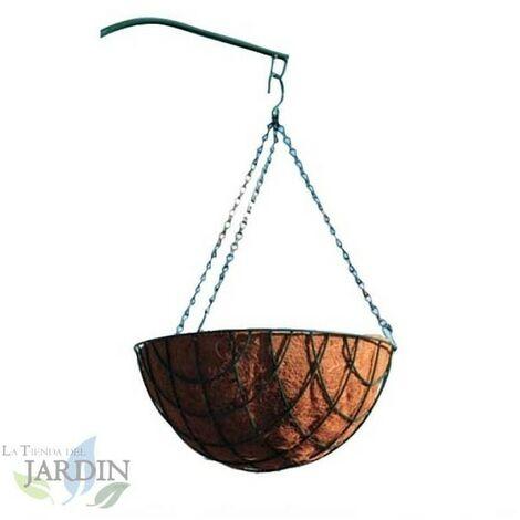 Jardinière à suspendre en noix de coco 40 cm