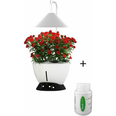 Jardinière avec lampe led intégrée Le potager avec engrais liquide + engrais 250 ml