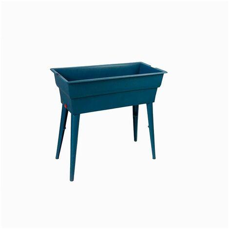 Jardiniere Calipso MAXI BASIC 40L Bleu Canard