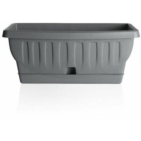 Jardinière - NATURA - 40 cm - Gris - Livraison gratuite