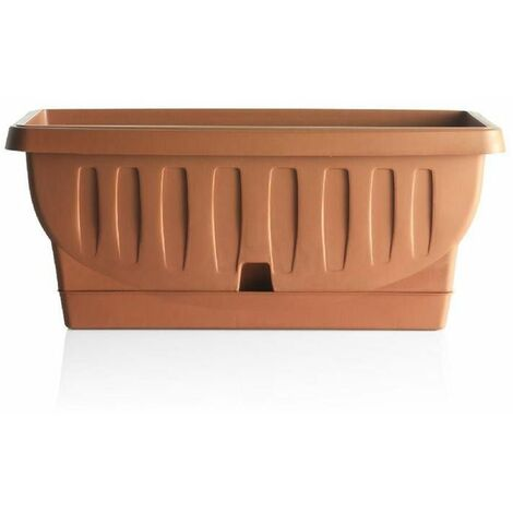 Jardinière - NATURA - 40 cm - Terracotta - Livraison gratuite