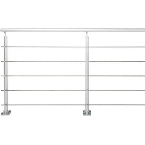 Jardipolys - Pack prêt-à-poser main courante en aluminium 200x100/102cm - SMARTLINE