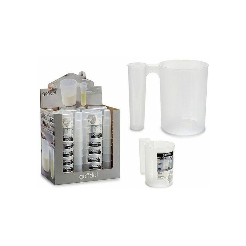 Jarra Medidora Plástico 1,2l - LTD