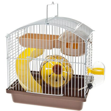 Jaula completa para hamsters 22x16x24 cm