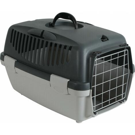jaula de transporte gulliver 1. tamaño 32 x 48 x 31 cm. para perro.