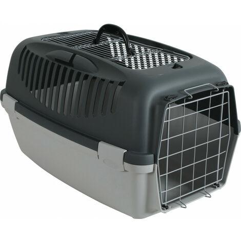 jaula de transporte gulliver 3. tamaño 40 x 61 x 38 cm. para perro.