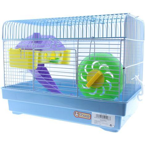 Jaula hamster con accesorios YM-0108