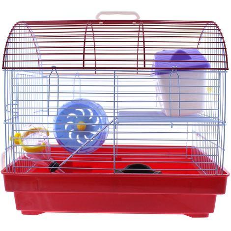 Jaula hamster con accesorios YM-0109