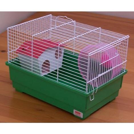 Jaula Hamster N.7 34X23X23Cm - Imor - 1043