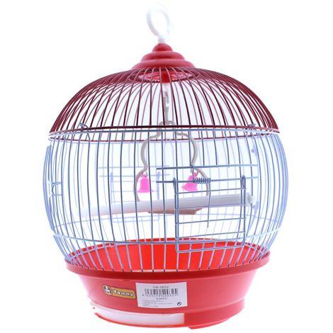 Jaula pájaros redonda YM-0032