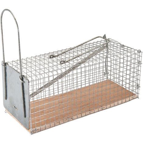 Jaula para atrapar roedores 250 x 90 x 90 mm - NEOFERR