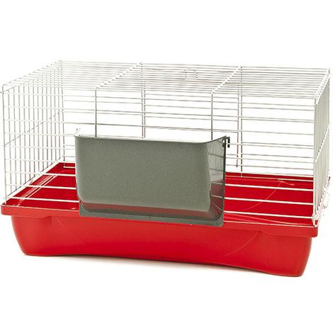 Jaula para conejos y cobayas modelo Felix 58x32x31 cm