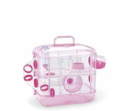 Jaula para hamster 2 pisos 1 color