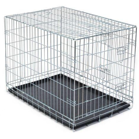 Jaula para perros Dog Residence 91 cm   Jaula desmontable para perros