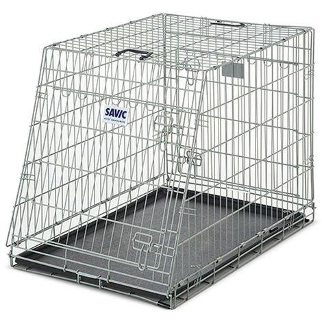 Jaula para perros Dog Residence Mobile 76 cm | Jaula desmontable para perros | Jaula de perro para coche