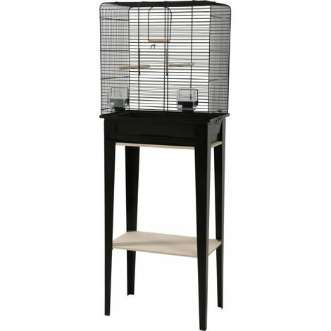 Jaula y muebles CHIC LOFT. tamaño M. 44 x 28 x altura 124 cm. color negro.
