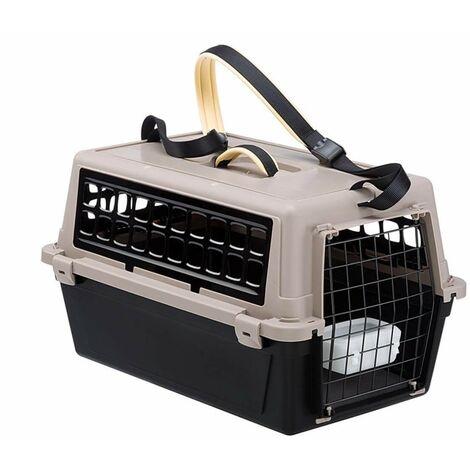 Jaulas de transporte de plástico para perros 48 x 32.5 x 29 cm