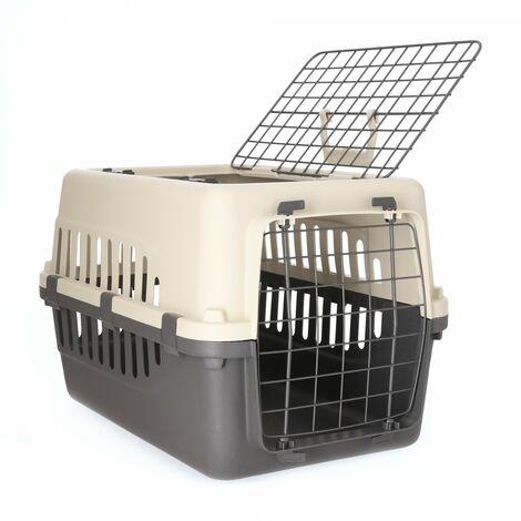 Jaulas de transporte de plástico para perros 50 x 35 x 31.5 cm