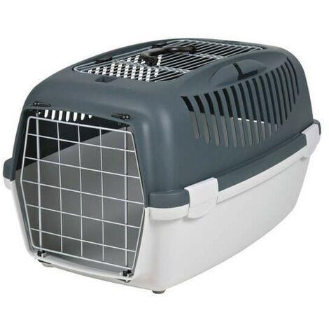 Jaulas de transporte de plástico para perros 61 x 40 × h38 cm, 2,5 kg