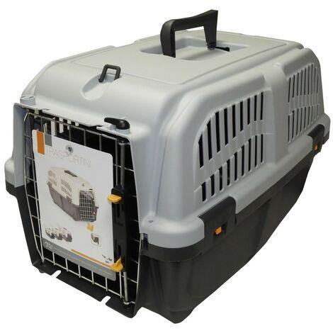 Jaulas de transporte de plástico para perros 70 x 63 x 92 cm