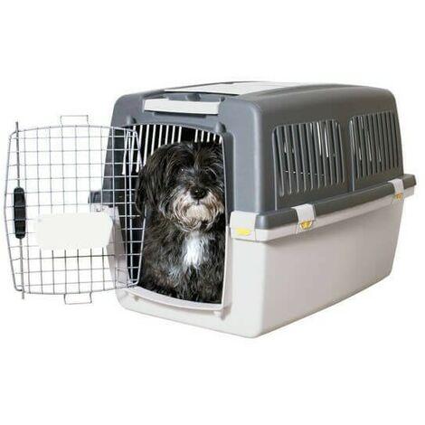 Jaulas de transporte de plástico para perros 92 x 64 x h64 cm