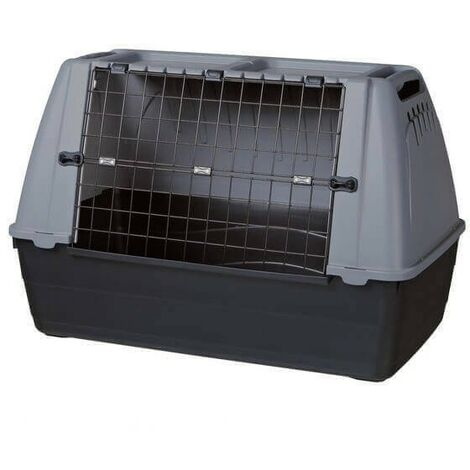 Jaulas de transporte de plástico para perros L: 100 × 65 × 60 cm