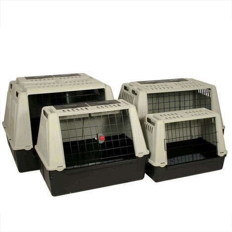 Jaulas de transporte de plástico para perros MAXI - 100 x 80 x h71 cm