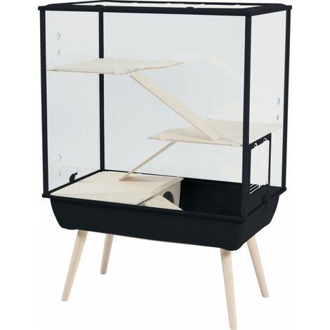 Jaulas para roedores 78 x 48 x 108 cm, BLACK