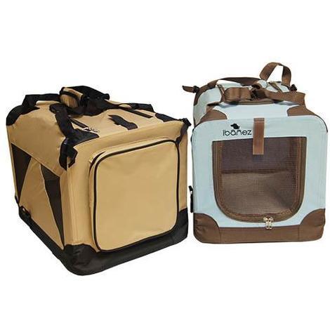 Jaulas plegables de loneta - Viajar con perro o gato disponible en varias opciones