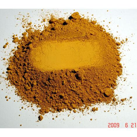JAUNE - 5KG - PIGMENT NATUREL TERRE JAUNE 4/0 5 KG - jaune