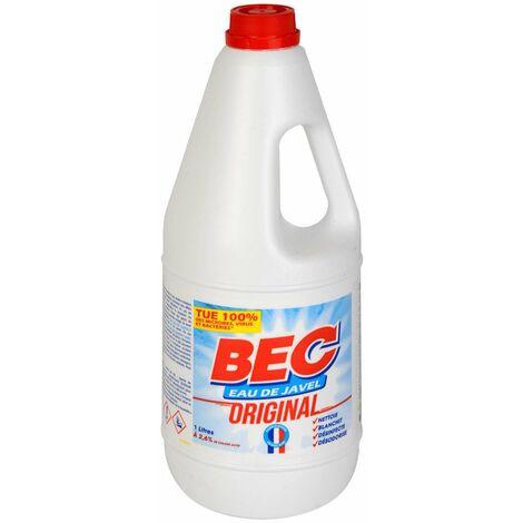 Javel Bec Bidon 2,6% 1 Litres Tp2 4 - BEC