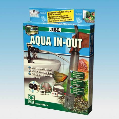 JBL Aqua In Out - Wasserwechel Komplettset