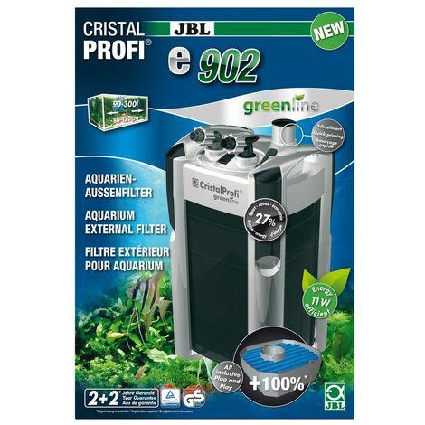 JBL CristalProfi e902 greenline Außenfilter 90-300 Liter Aquarien 900 l/h