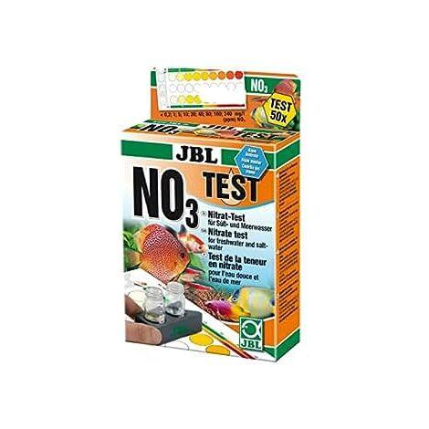 JBL NO3 Nitrat Test-Set, Test rapide pour déterminer le taux de nitrates dans les aquariums d'eau douce et d'eau de mer et dans les bassins