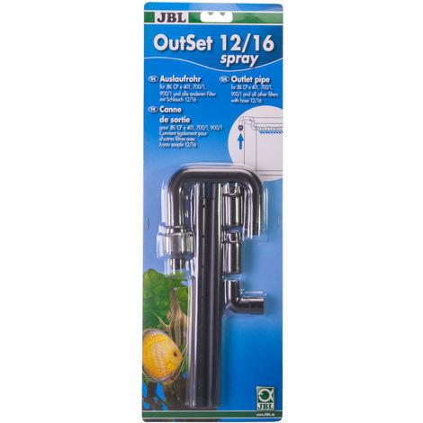 JBL OutSet spray - Wasserrücklauf-Set mit 2-teiligem Düsenstrahlrohr