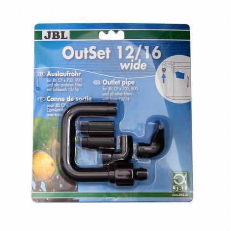 JBL OutSet wide - Wasserrücklauf-Set mit Breitstrahlrohr