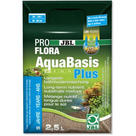 JBL - Substrat Mélange Nutritif AquaBasis Plus pour Aquarium - 2,5L