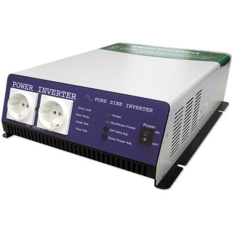JBM 52750 CONVERTIDOR DC A AC 12V 1.200W