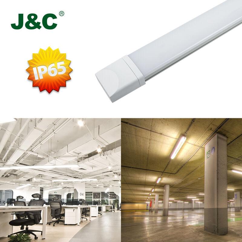 J&C 120CM J&C LED Feuchtraumleuchte Ultraslim 120CM mit 36W